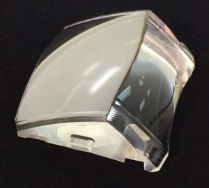 Example of prism used in augmented reality goggles