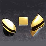 recoating gold metal optics